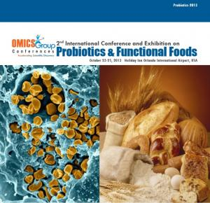 2nd International Conference and Exhibition on Probiotics & Functional Foods 2013