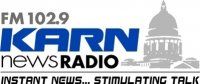 KARN News Radio 102.9 FM / 920 AM Little Rock, Arkansas logo