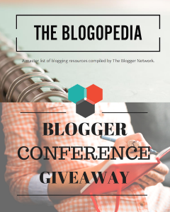 Blogopedia Blog Conference Giveaway