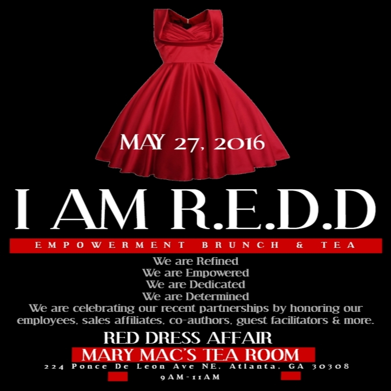 Redd Ladys Inc Hosts I Am R E D D Empowerment Brunch At