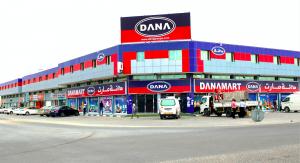 Dana Group's Retail division Dana Mart Hypermarket in Ajman, UAE
