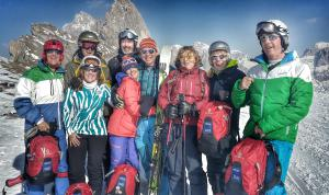 Konrad Bastelski and the Dolomites Ski Safari