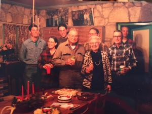 A Lewis Family Thanksgiving at the Ranch. That's me at the far left.
