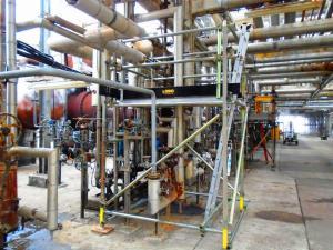 Lobo System; Valero Oil;Work Platform; Access System