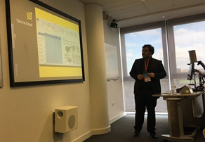 "Wasim Ahmed, from Sonic Social Media, delivered a workshop titled ""Insights into Social Media"" at Media City, Salford, which is the home to the BBC and ITV."