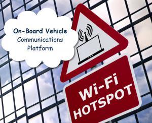 Vehicle onboard communication platform