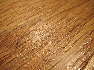 Hard Wood Floor Dry Bubles