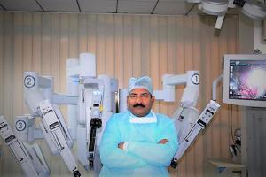 Dr. R. K. Mishra - Robotic Surgeon