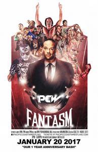 Pacific Coast Wrestling (PCW) - Fantasm - 1/20/17 - Main Event Willie Mack vs. Rob Van Dam