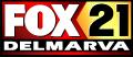 Fox 21 Delmarva logo