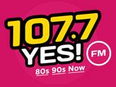 107.7 YES! FM logo