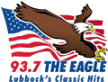93.7 The Eagle logo