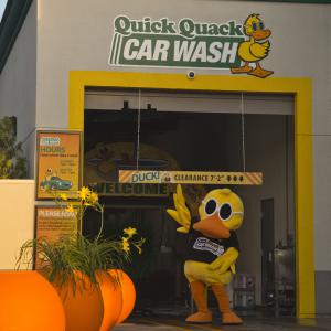 Quackals the Duck Mascot