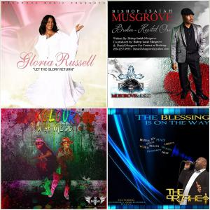 The artists in the picture have all garnered success as clients of Musgrove Music Distribution.