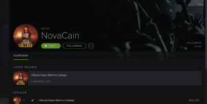 NovaCain, blind rapper, half a million streams, Spotify