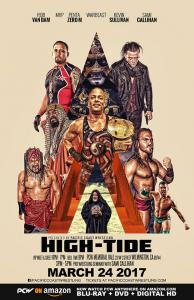 PCW High Tide Poster featuring the events wrestlers