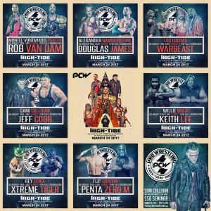 PCW High Tide Match Up Graphic