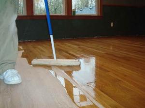 cleaning hard wood floors