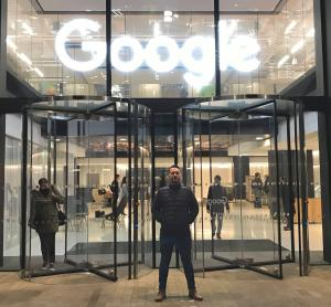 Graham Tester at Google HQ London