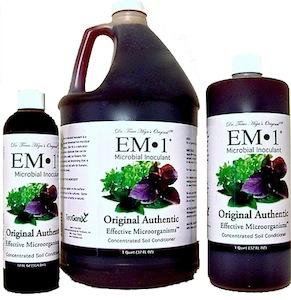 EM-1 Microbial Inoculant Bottles