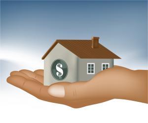 Hand Holding House Image
