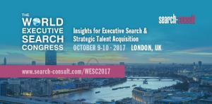 Join Executive Search professionals and Corporate Recruiters at the 2-day event on Oct 9-10 in London