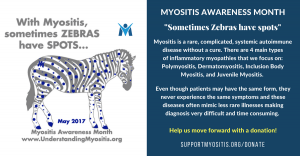 The MSU Myositis Awareness Theme