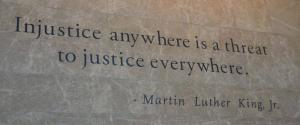 Dr King An Injustice Anywhere