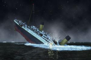 Titanic sinking as possible fate of Facebook advertisng without proof of efficacy