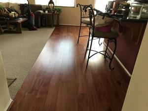 Bubinga wood floors