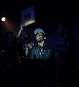 Malcolm King as RZA