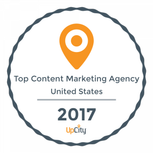 Hyperlinks Media was named a top content marketing agency by UpCity for 2017.