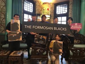 press conference for BLACKS