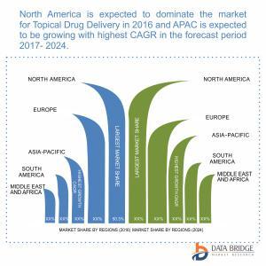 Global Topical Drug Delivery Market Geographical Segmentation