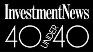 InvestmentNews 40 under 40 logo