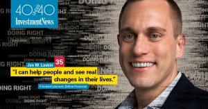 Jon Luskin InvestmentNews 40 under 40