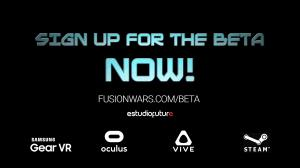Fusion Wars Closed Beta Sign-up