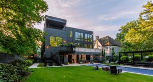 MATSU shou sugi ban accoya on Bethesda, MD residence