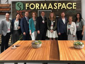 Team Formaspace at NeoCon 2017