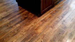 Douglas Fir wood floor