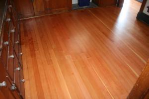 Beautiful Douglas Fir Wood Floor