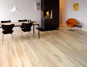 White Ash wood floors
