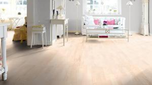 Beautiful white ash flooring