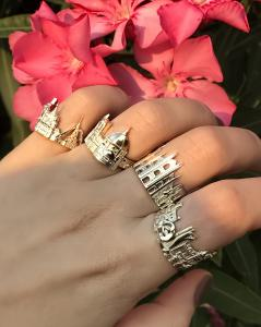 4 New Cityscape Rings by CITIMI: Milan, Monte Carlo, Florence and St. Petersburg