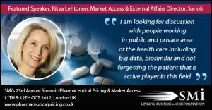 Sanofi at Pricing & Market Access 2017