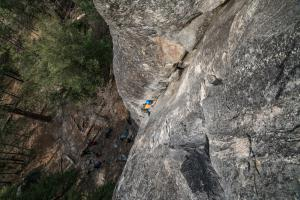 Rock Climbing in Yosemite National Park, United States