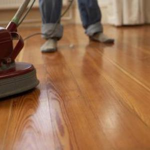 buffing your wood floors