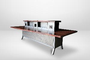 Custom Trapezoidal Conference Table