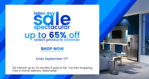 Appliances Connection Labor Day Sale; Save Up to 65% off on Appliances and Furniture