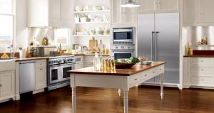 Get a FREE Thermador Emerald Dishwasher with your purchase of a range or cooktop and wall oven.